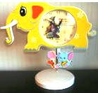 Baby Nursery Elephant Shaped Clock Winnie The Pooh